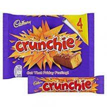 Cadbury Crunchie 4db (4X26,1g  104,4g) - tejcsokoládé szelet ropogós törökmézzel