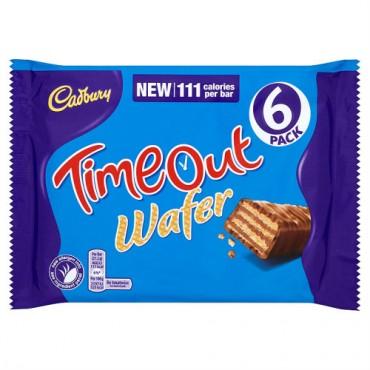 Cadbury TimeOut Wafer-Tejcsokoládés nápolyi szelet 6db-os (6x21,2g)