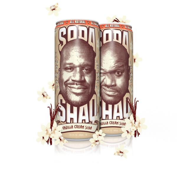 Arizona Shaq Cream soda Vanilla 680ml