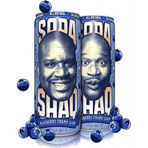 Arizona Shaq Cream Soda Blueberry 680ml