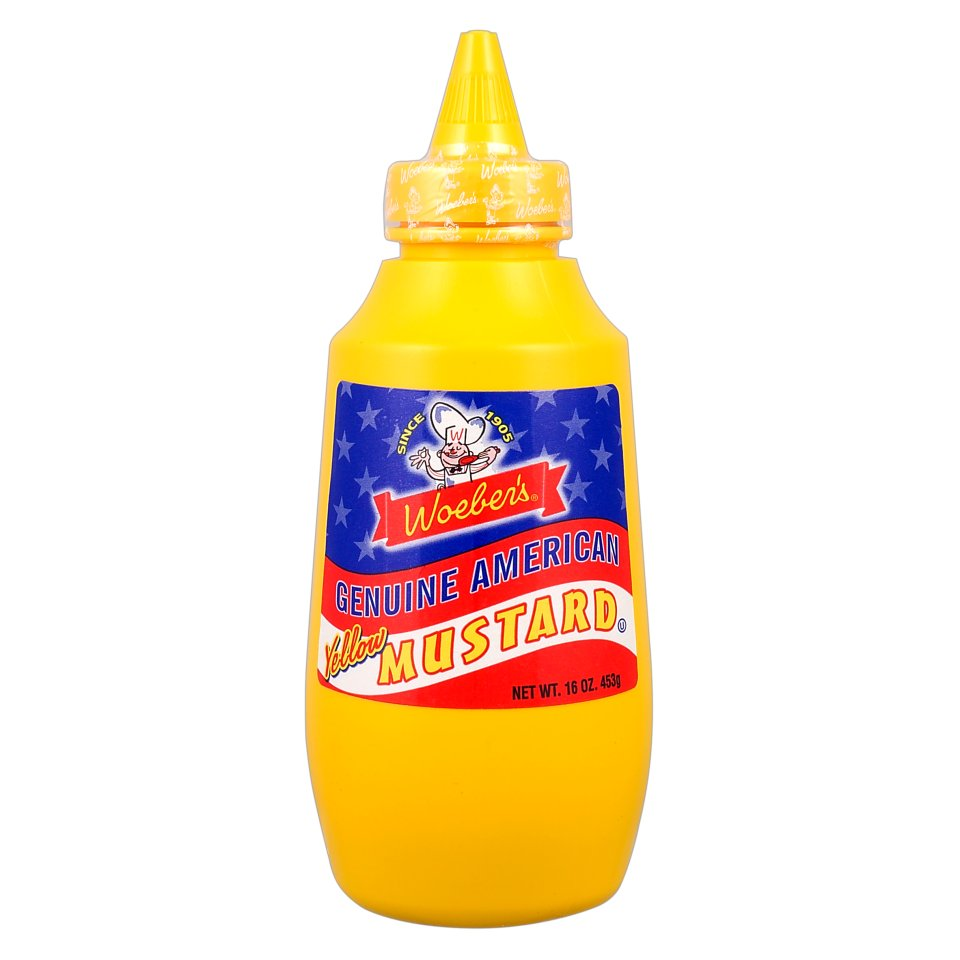 Woeber's amerikai mustár 453g