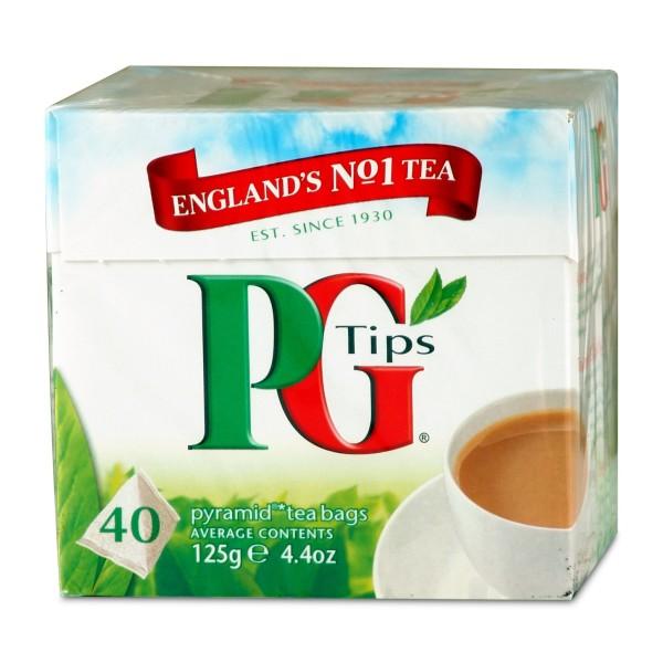 PG Tips fekete tea 40 piramis filter