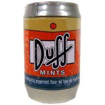 Simpsons Duff mentolos cukorkák fémdobozban