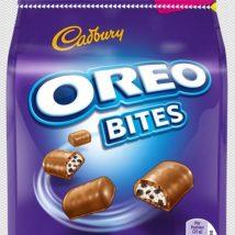 Cadbury Oreo Bites 110g tejcsokoládé falatkák oreo-s töltelékkel