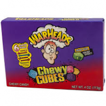 Warheads chewy cubes savanyú gumicukor 113g.