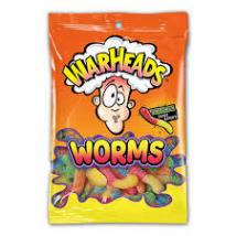 Warheads Worms savanyú gyümölcsös gumicukor 227g.