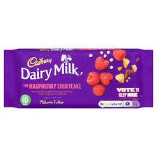 Cadbury málnás