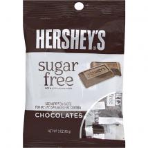 Hershey's cukormentes tejcsokoládé 85g.
